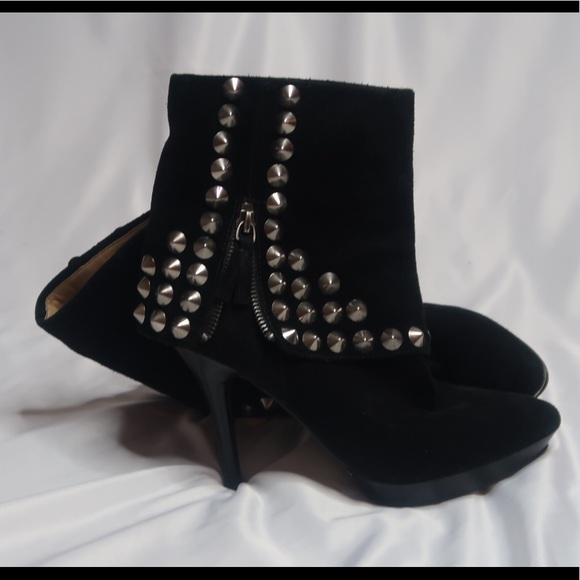Nine West Shoes - Nine West suede studded boots